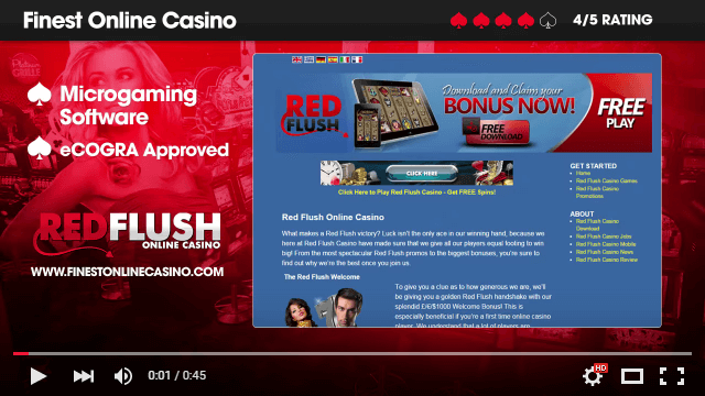 Red Flush Casino Video