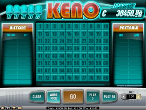 Red Flush Casino Keno